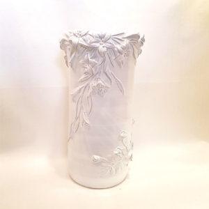 vaso tondo in ceramica