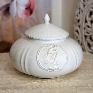 biscottiera in ceramica