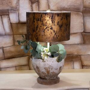 lume vaso pietra