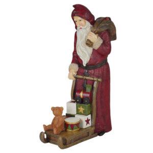 Babbo Natale su slitta
