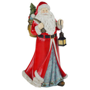Babbo Natale con lanterna