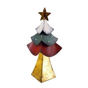 Albero di Natale in metallo