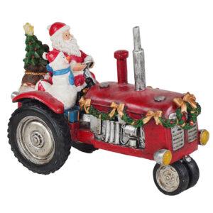 Babbo Natale trattore