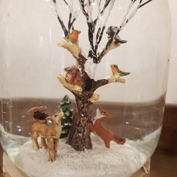 sfera con animali